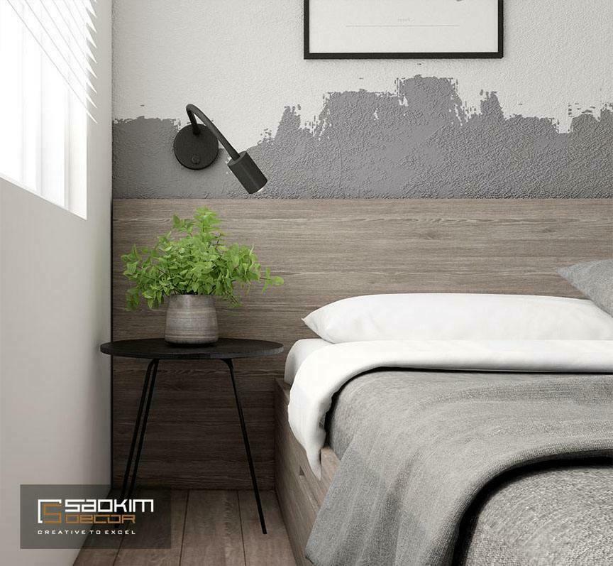 Thiết kế phòng ngủ chung cư cho bé trai với phong cách Color block