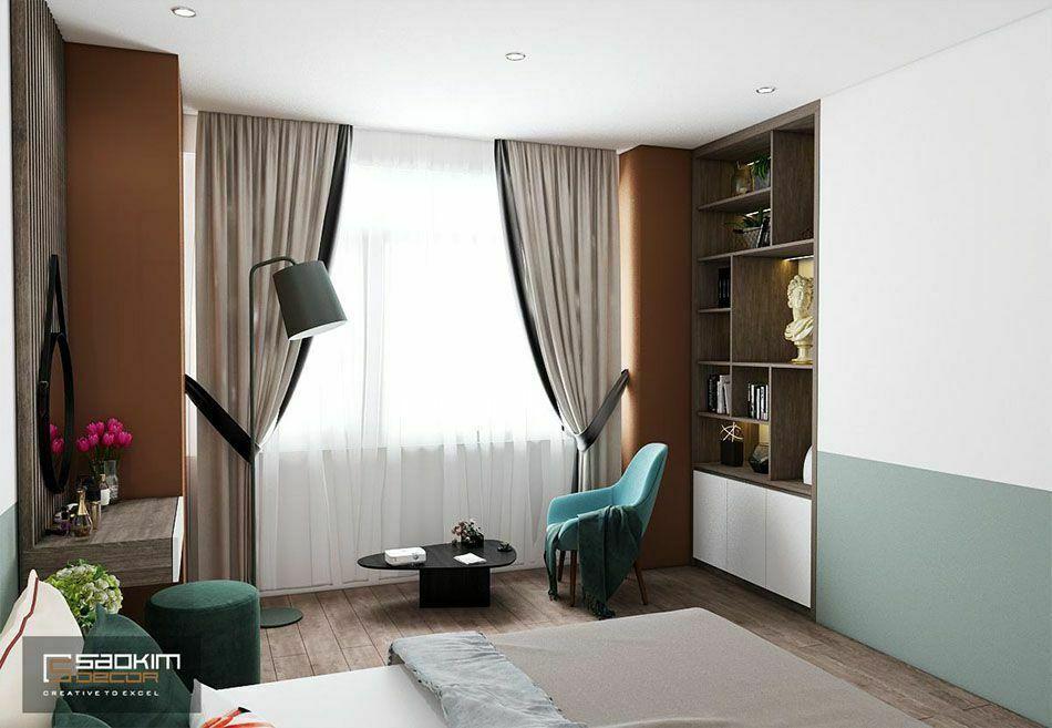 Thiết kế phòng ngủ master chung cư