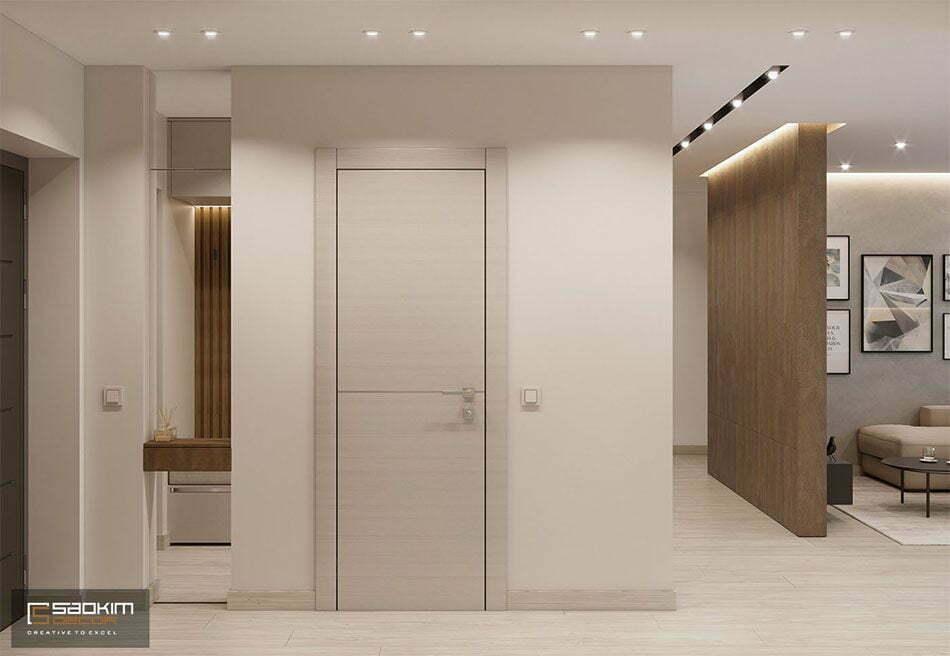 Thiết kế nội thất hành lang căn hộ