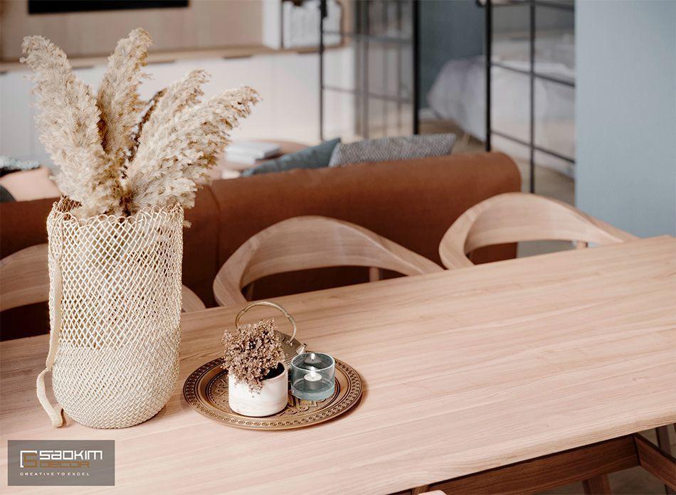 Thiết kế căn hộ 40m2 Vinhomes Smart City Tây Mỗ Đại Mỗ