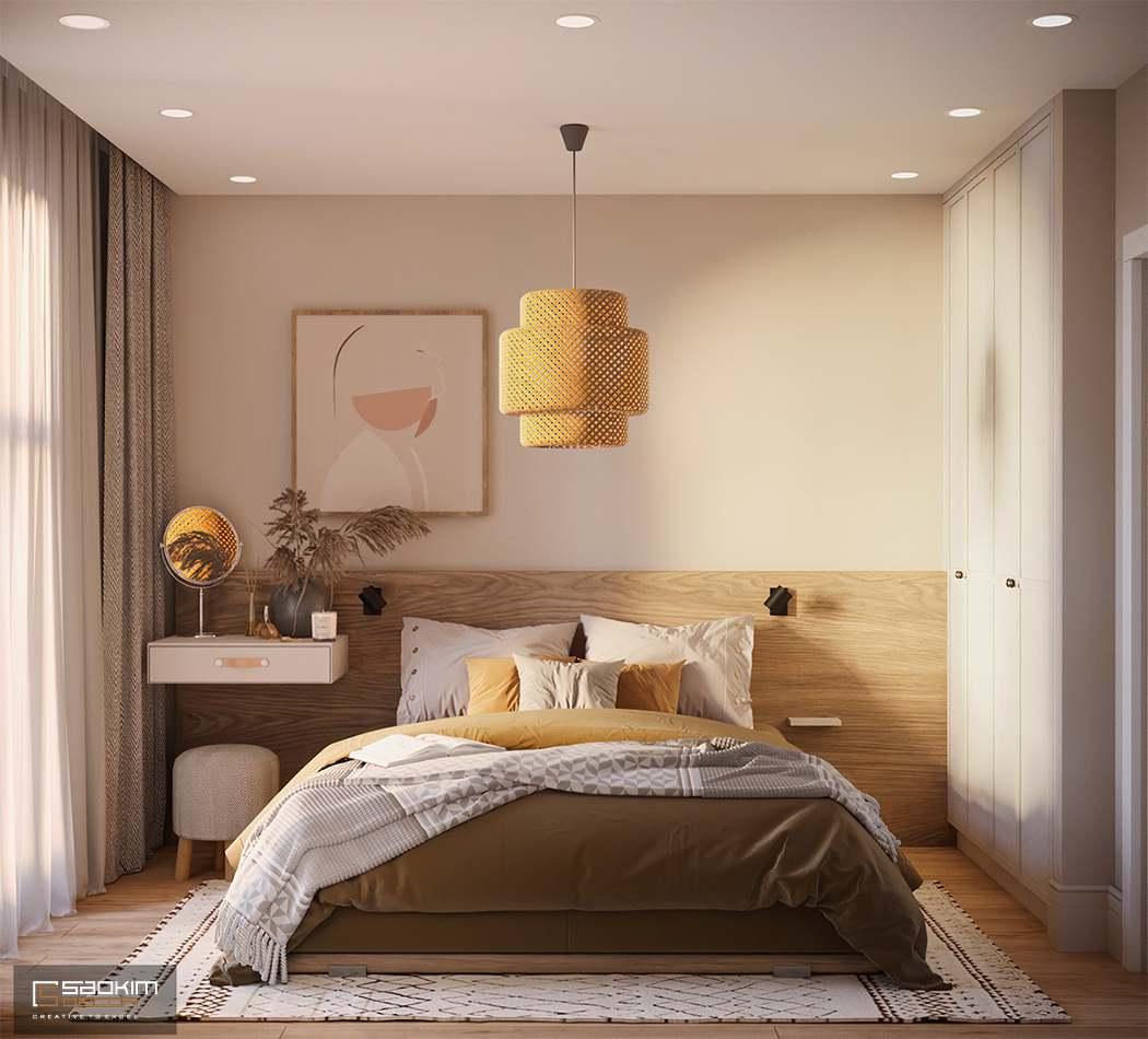 Mẫu phòng ngủ Master mang phong cách Scandinavian
