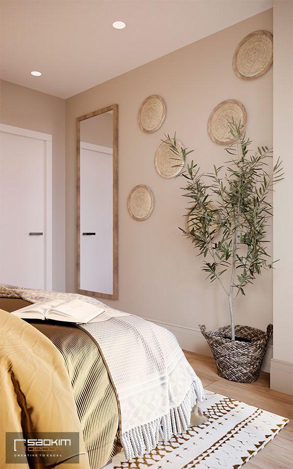 Các chi tiết trang trí là điểm nhấn cho căn phòng