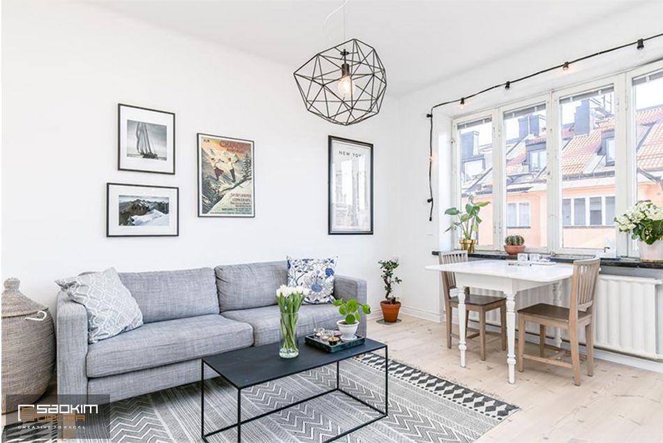 Mẫu thiết kế căn hộ chung cư mini 30m2