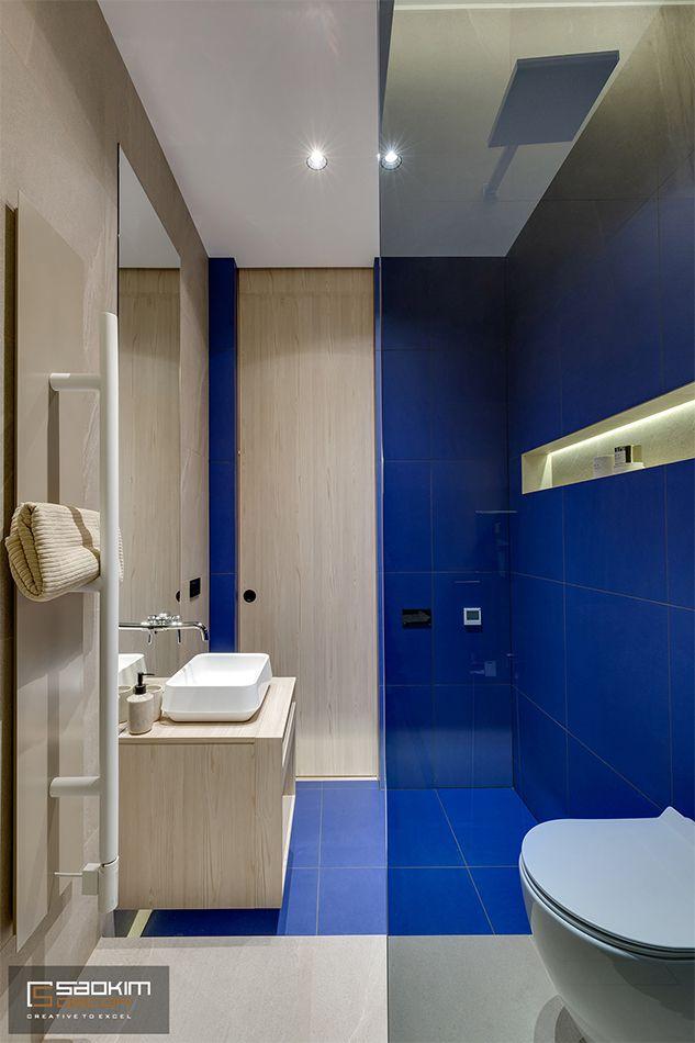 Thiết kế phòng tắm chung cư La Casta Tower phong cách hiện đại