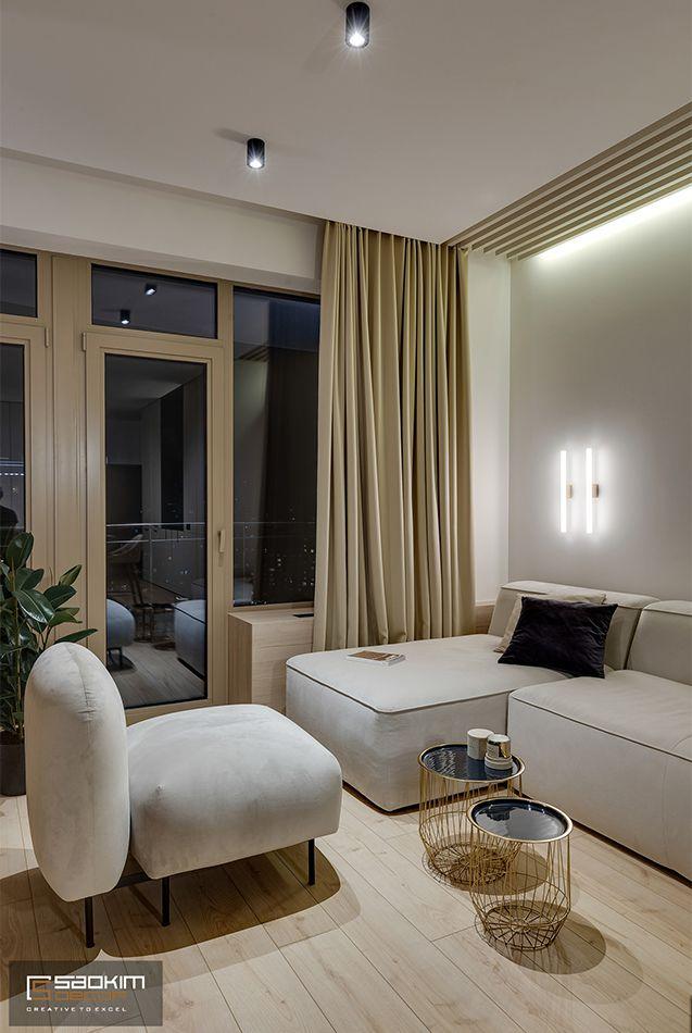 Thiết kế và thi công nội thất chung cư La Casta Tower phong cách hiện đại