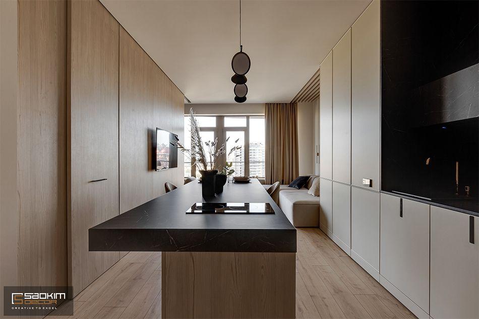 Thiết kế bàn ăn chung cư La Casta Tower phong cách hiện đại