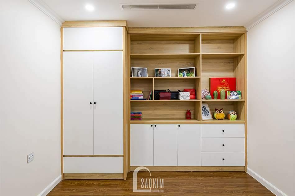Thiết kế thi công nội thất phòng làm việc chung cư Sunshine Garden 108m2