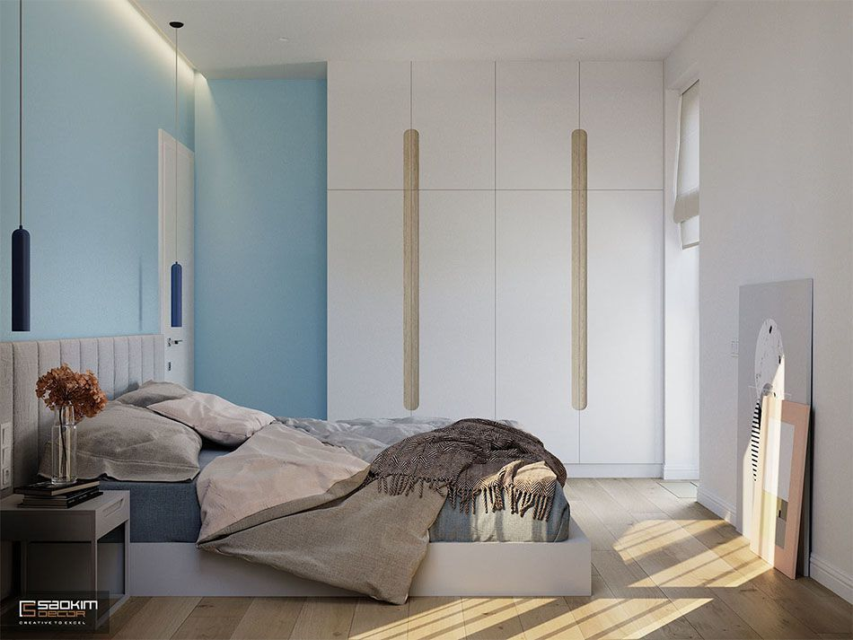 Mẫu thiết kế căn hộ 70m2 dự án Vinhomes Symphony Riverside