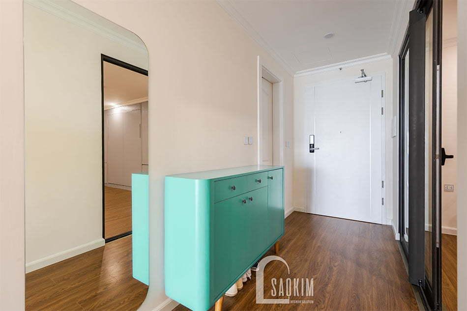 Hình ảnh thiết kế và thi công nội thất chung cư Sunshine Garden