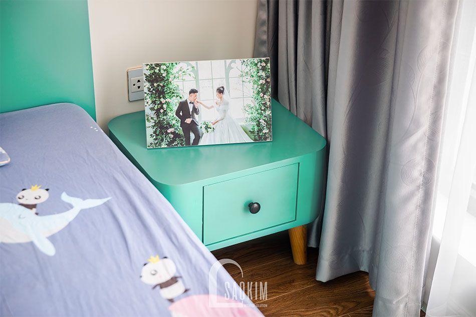 Thiết kế nội thất phòng ngủ Mastel theo phong cách Scandinavian