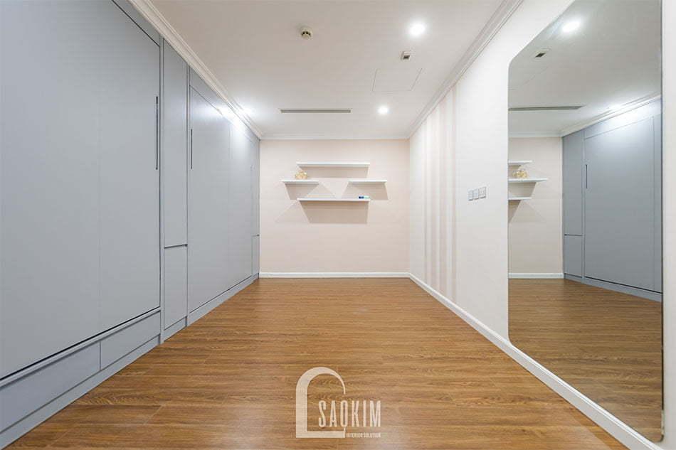 Thiết kế và thi công nội thất phòng đa năng chung cư Sunshine Garden 108m2