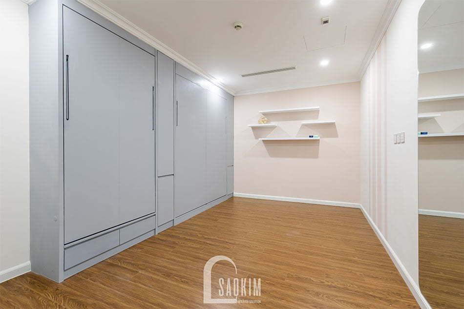 Thiết kế phòng đa năng chung cư Sunshine Garden rộng thoáng, tươi mới