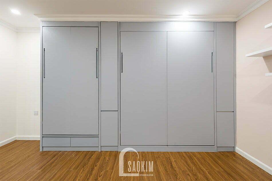 Lối thiết kế đơn giản, tiện nghi nhằm tối ưu không gian