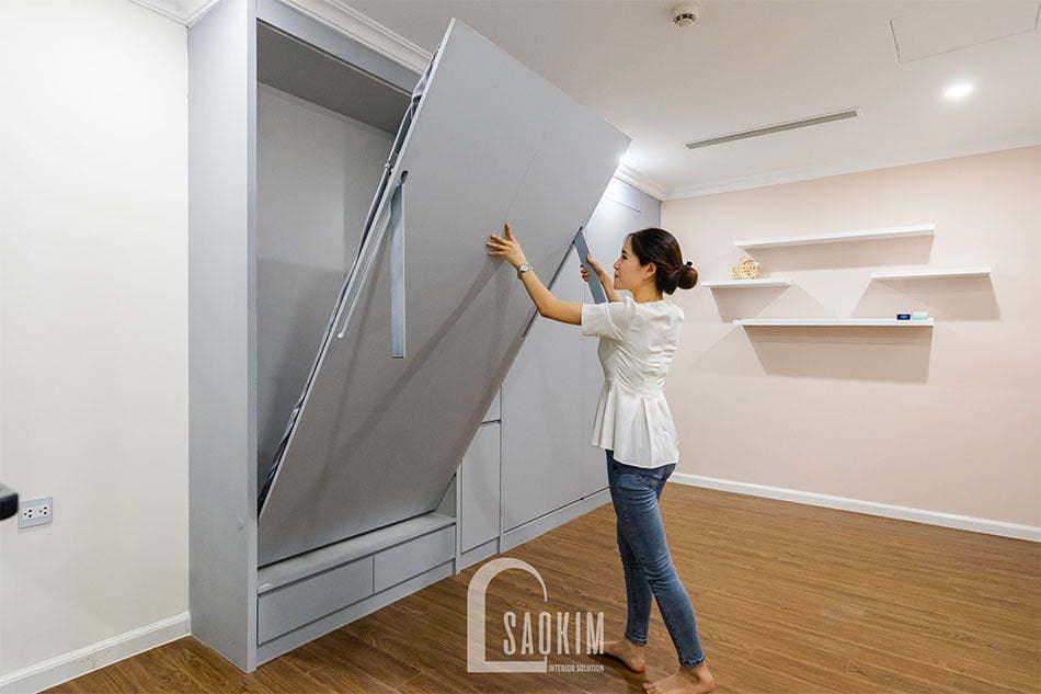 Hình ảnh hoàn thiện thiết kế và thi công nội thất chung cư Sunshine Garden
