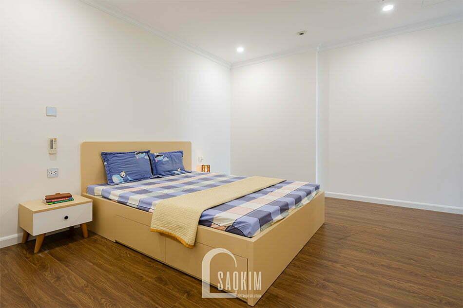 Thiết kế và thi công nội thất phòng ngủ chung cư Sunshine Garden 108m2