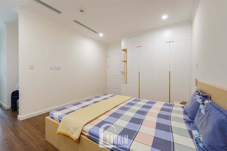 Thiết kế nội thất phòng ngủ 2 chung cư Sunshine Garden