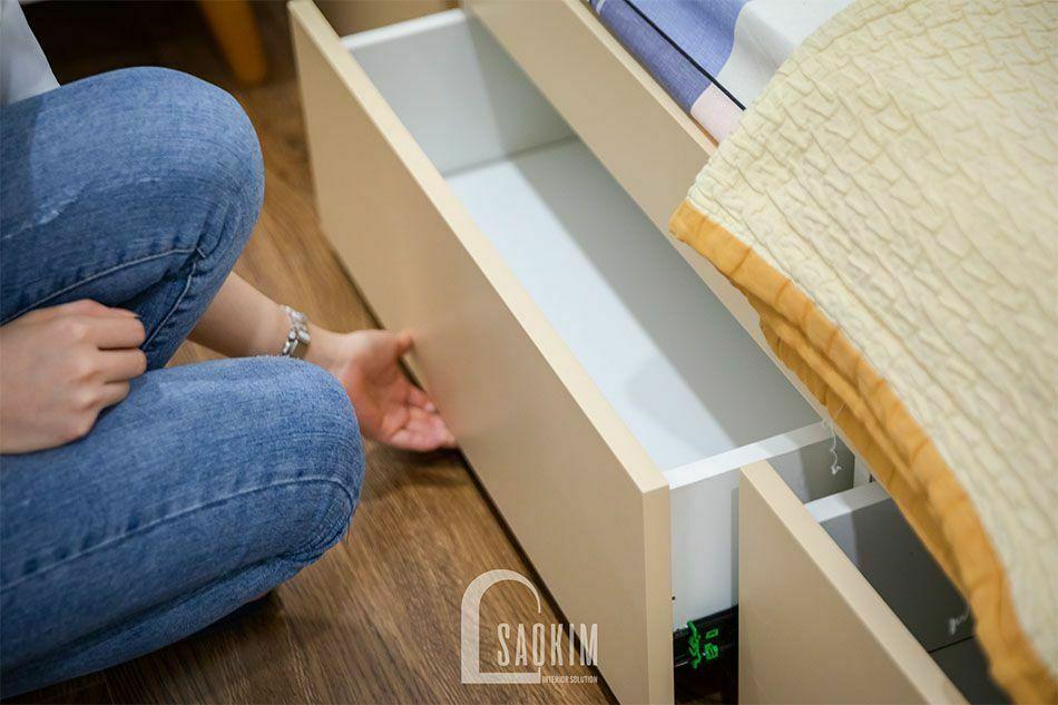 Thiết kế giường ngủ thông minh, tận dụng tối đa không gian