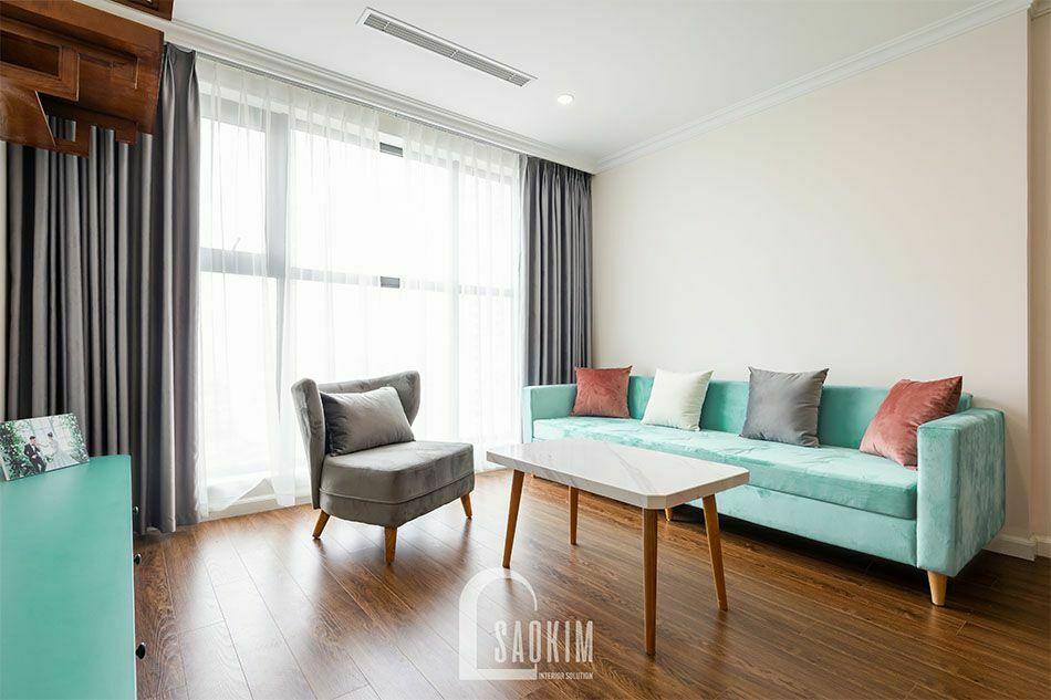 Thiết kế nội thất phòng khách mang đậm phong cách Scandinavian
