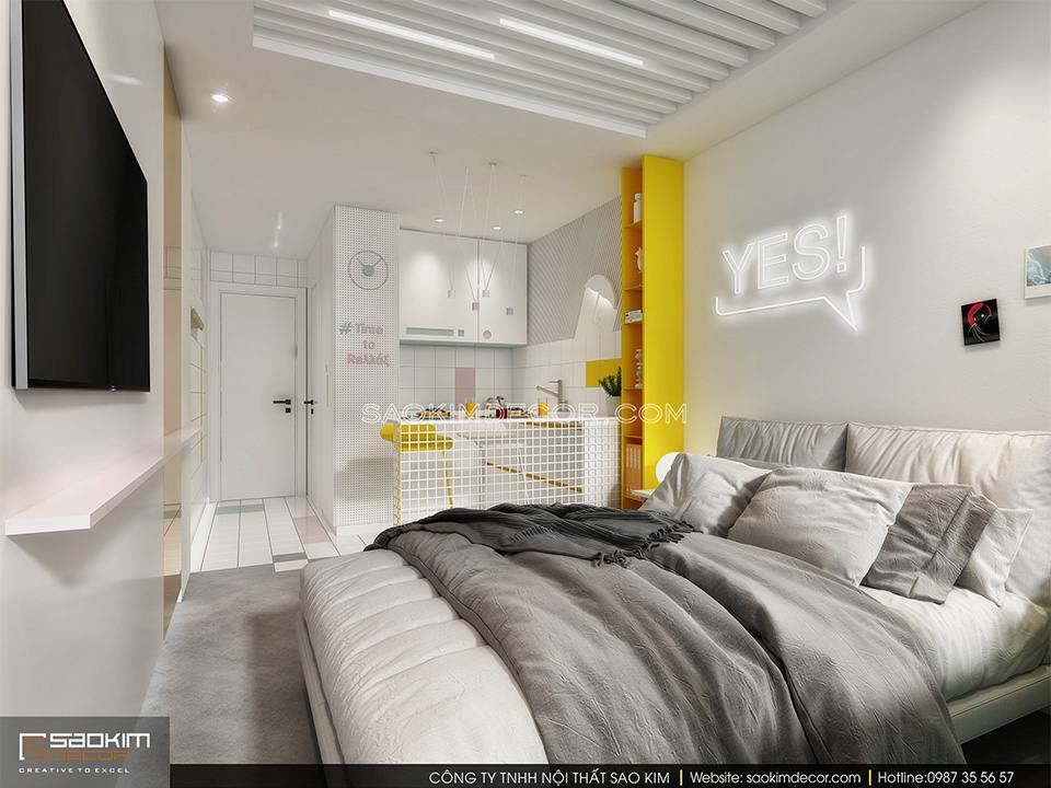 Mẫu thiết kế nội thất chung cư giá rẻ đẹp