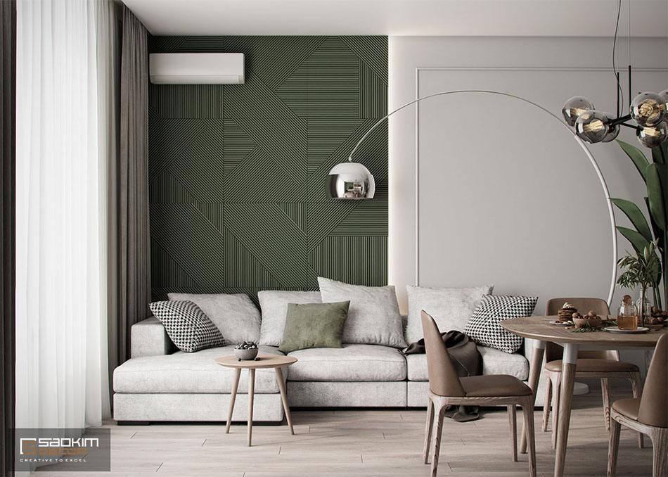 Thiết kế nội thất giúp cơi nới không gian, tiết kiêm diện tích đáng kể