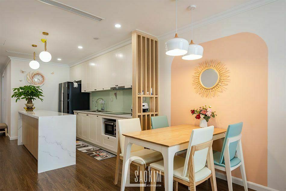 Thiết kế thi công nội thất chung cư trọn gói Sushine Garden