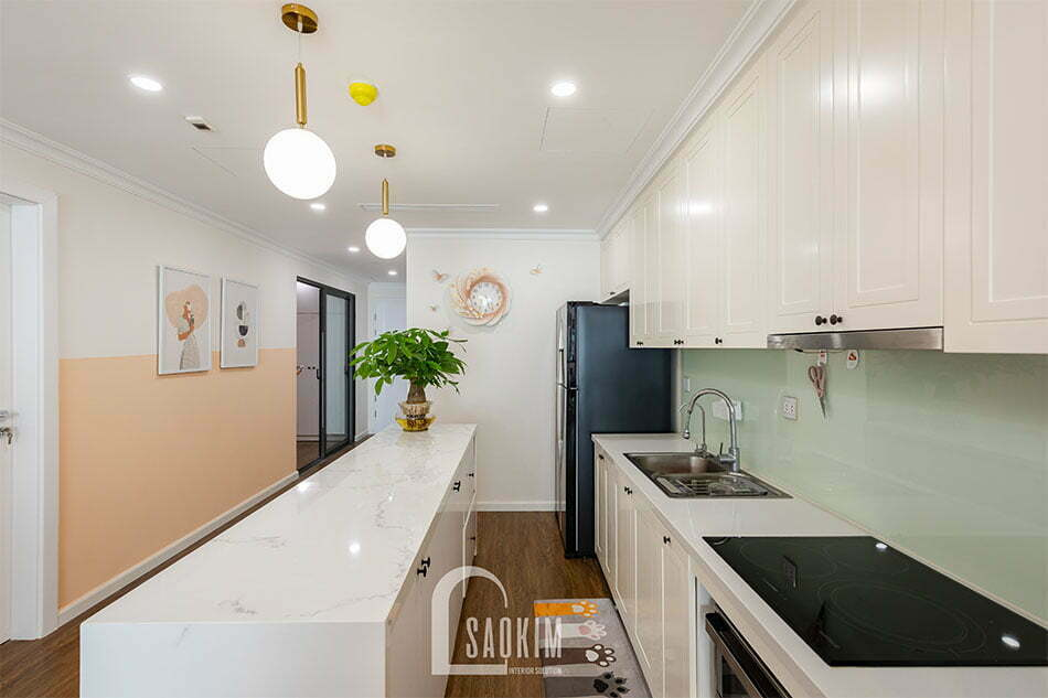 Phòng bếp chung cư Sunshine Garden
