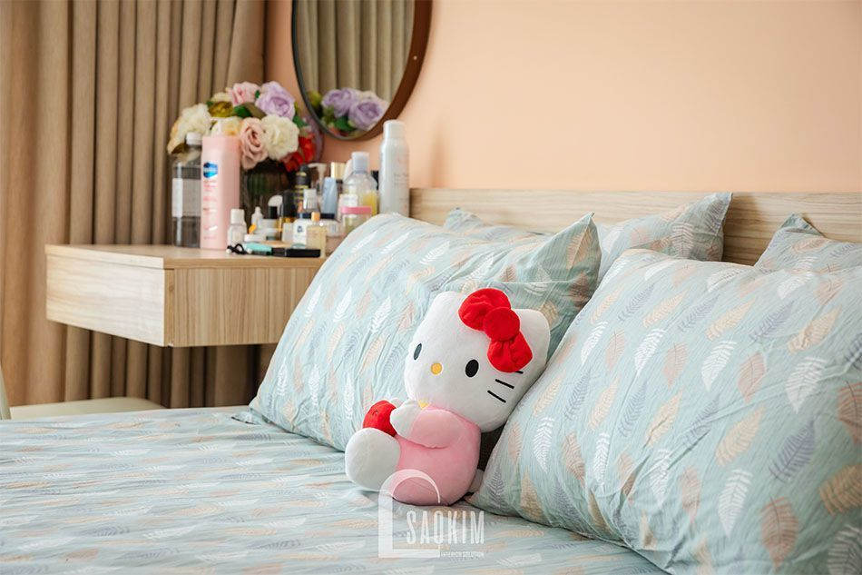 Phòng ngủ master chung cư Sushine Garden