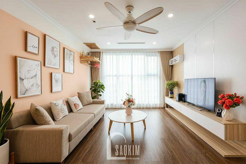 Thiết kế thi công nội thất chung cư trọn gói Sushine Garden mang vẻ đẹp quyến rũ, cuốn hút