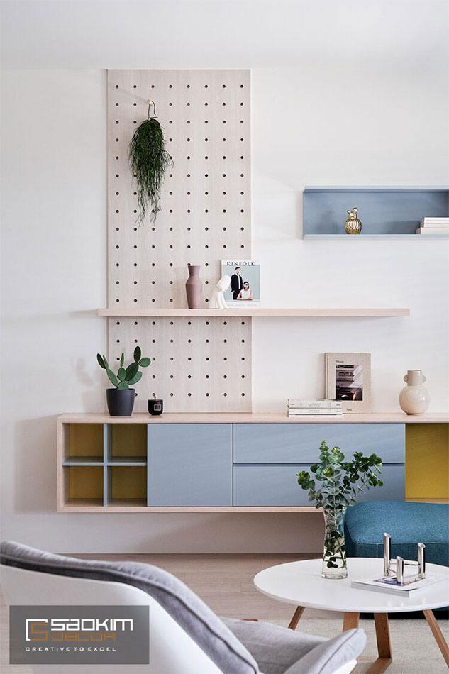 Thiết kế và thi công nội thất phòng khách nhà phố