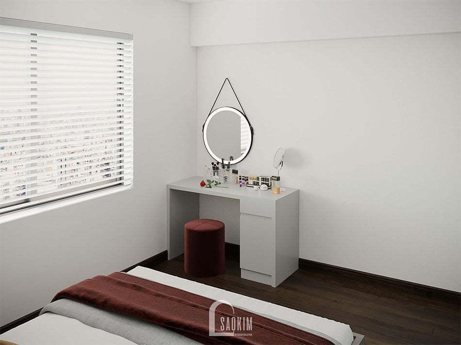 Không gian phòng ngủ Master thoải mái, thư giãn