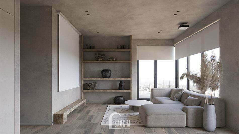 Thiết kế nội thất phong cách Wabi Sabi đề cao vẻ đẹp bất cân xứng và mộc mạc đầy chân thật