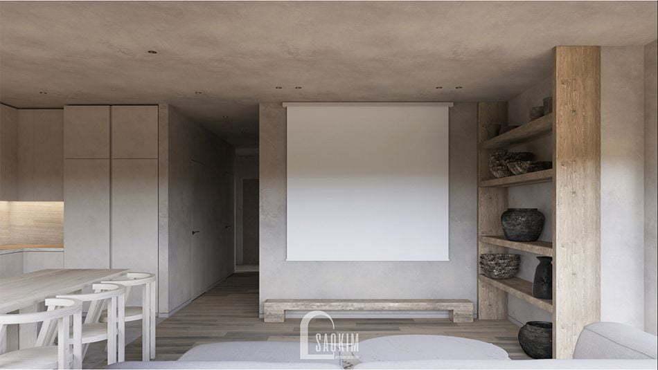 Wabi Sabi tôn vinh vẻ đẹp tự nhien qua các chất liệu đơn sơ, mộc mạc