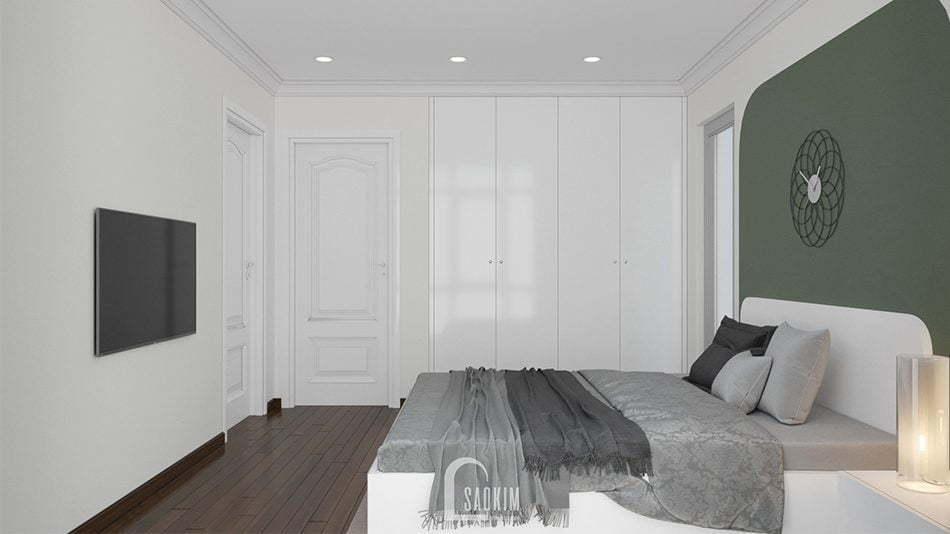 Thiết kế phòng ngủ 2 rộng thoáng, tối ưu không gian