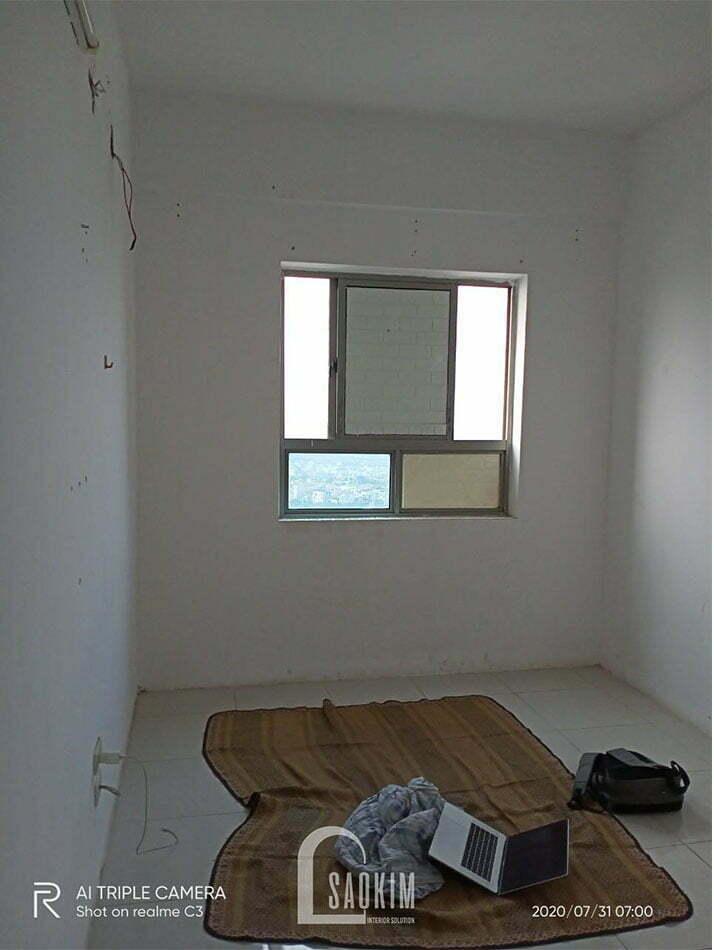 Hình ảnh căn hộ chung cư cũ Linh Đàm khi chưa cải tạo