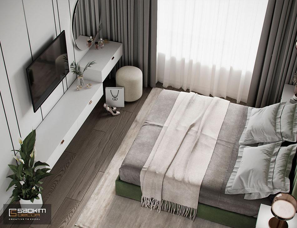 Các chi tiết trang trí trong thiết kế phòng ngủ độc đáo, nghệ thuật
