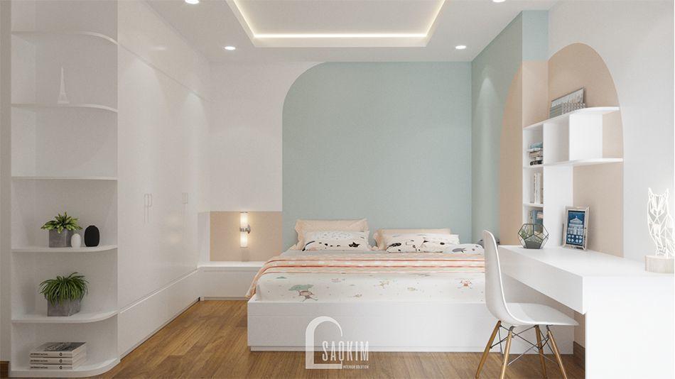 Mẫu thiết kế nhà chung cư 2 phòng ngủ Imperia Garden