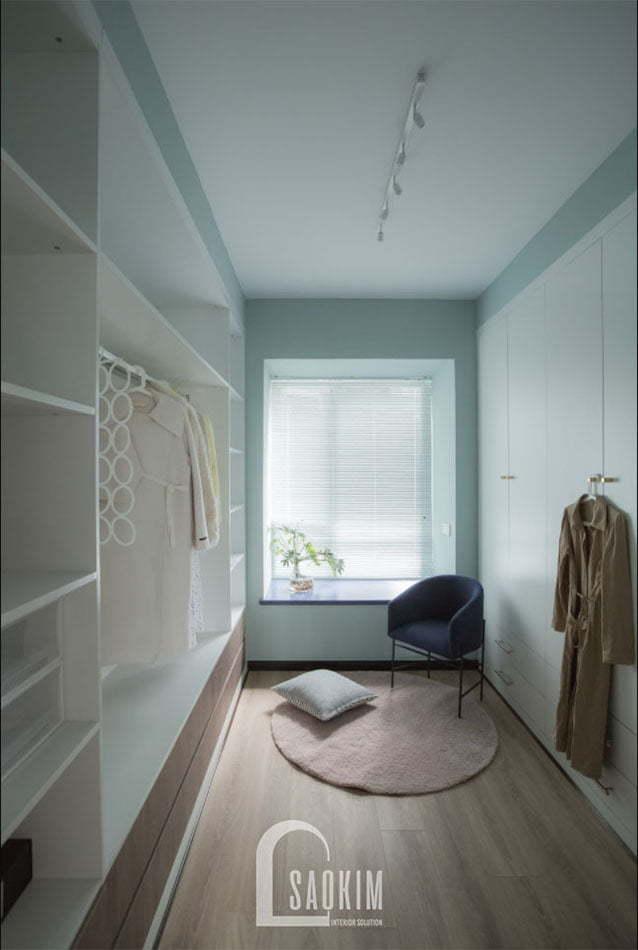 Thiết kế phòng đa năng trong mẫu căn hộ chung cư 2 phòng ngủ +1 Vinhomes Smart City