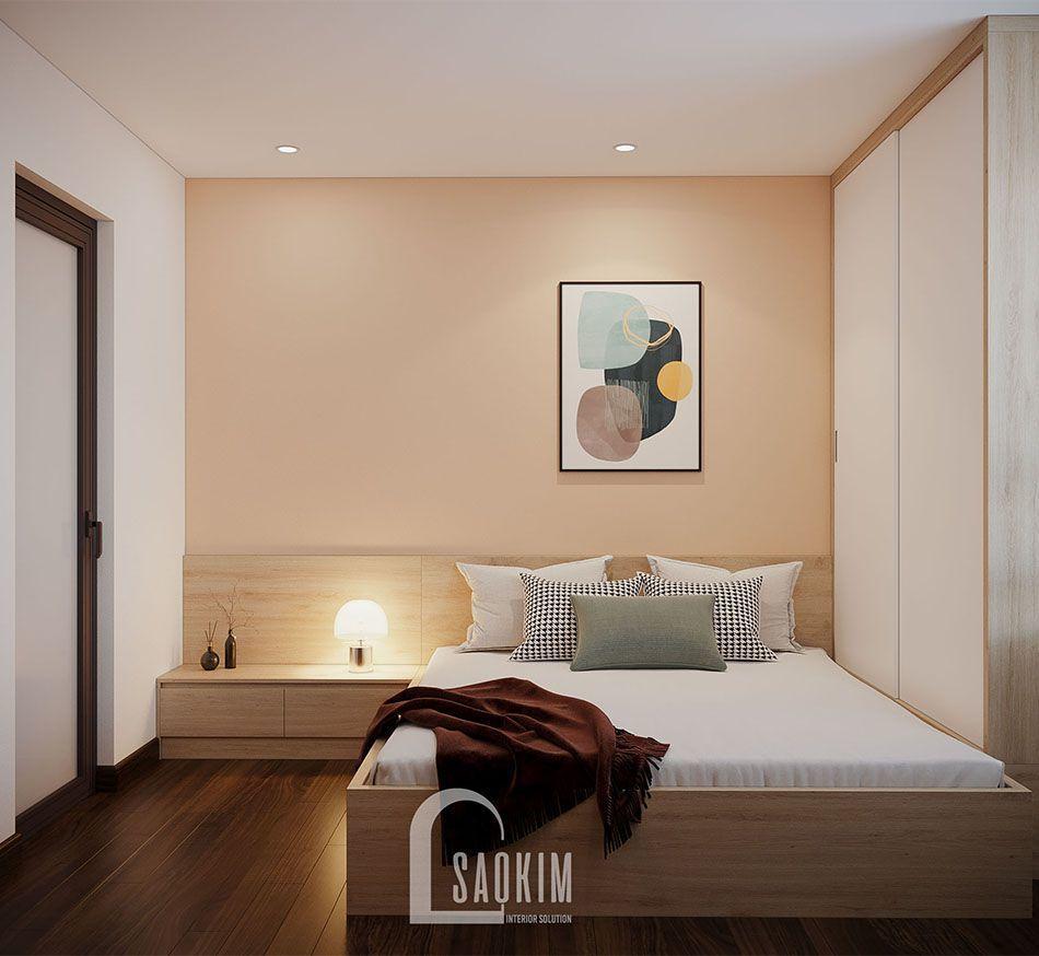 Không gian phòng ngủ 1 mang phong cách thiết kế Color Block
