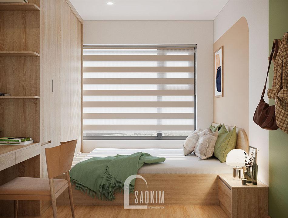 Không gian phòng ngủ ấm áp và bình yên