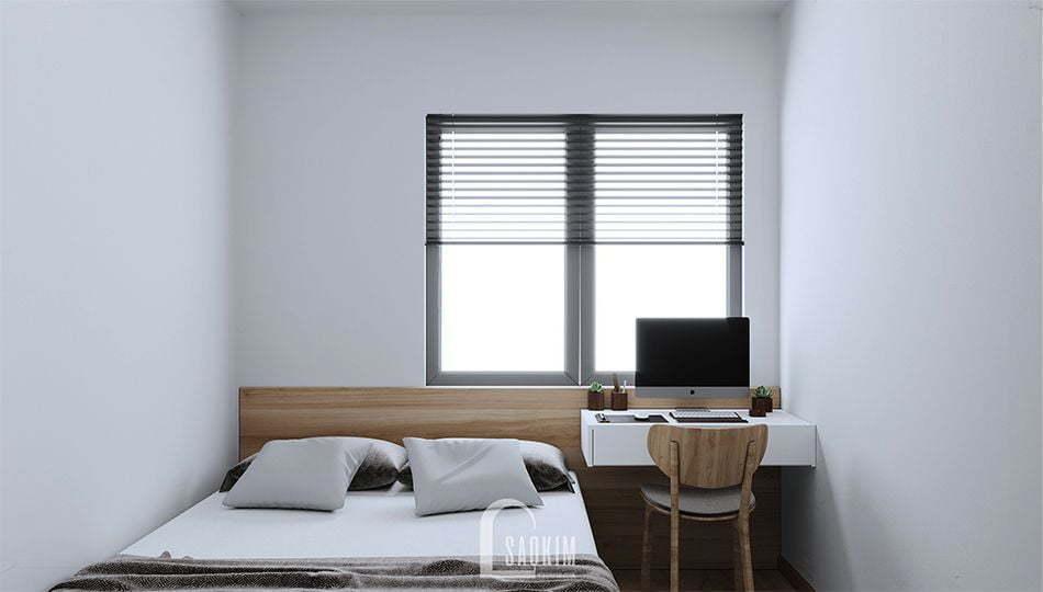 Không gian phòng ngủ 2 tươi mới, tràn đầy sức sống
