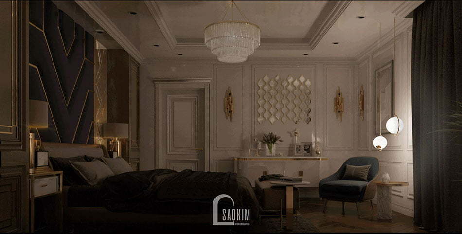 Thiết kế phòng ngủ ấm áp, gần gũi mang lại giác ngủ ngon cho chủ nhân