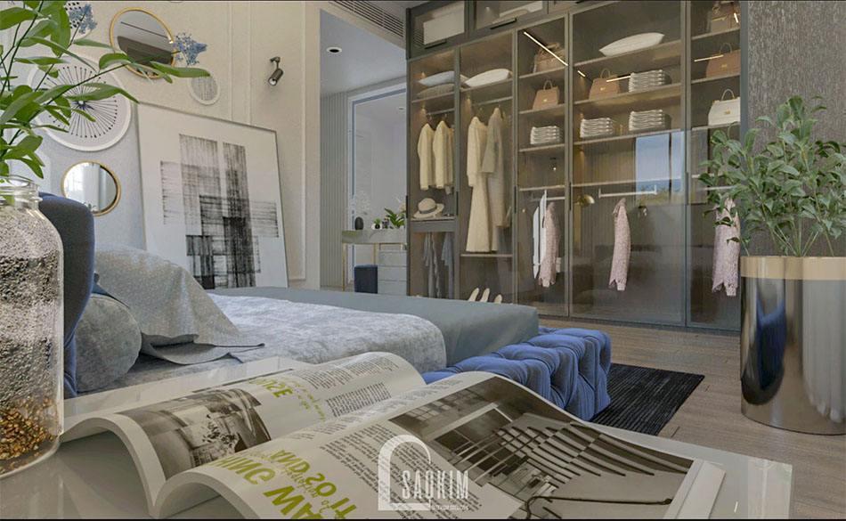 Không gian phòng ngủ thoải mái, tràn đầy sức sống