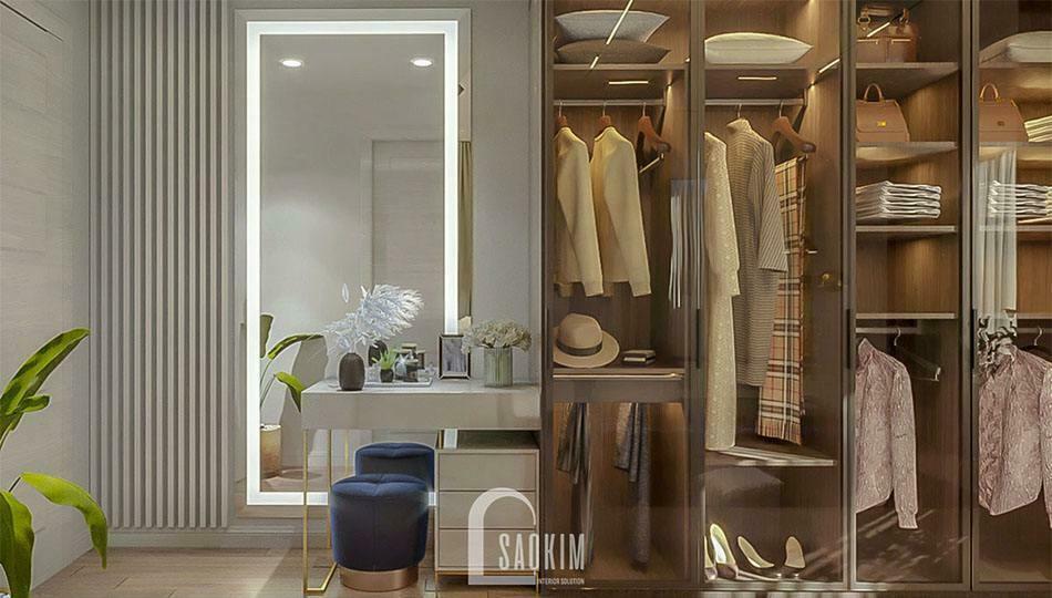 Thiết kế nội thất biệt thự lựa chọn nội thất thông minh, khoa học