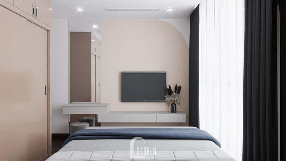 Không gian phòng ngủ nhã nhặn, thanh lịch
