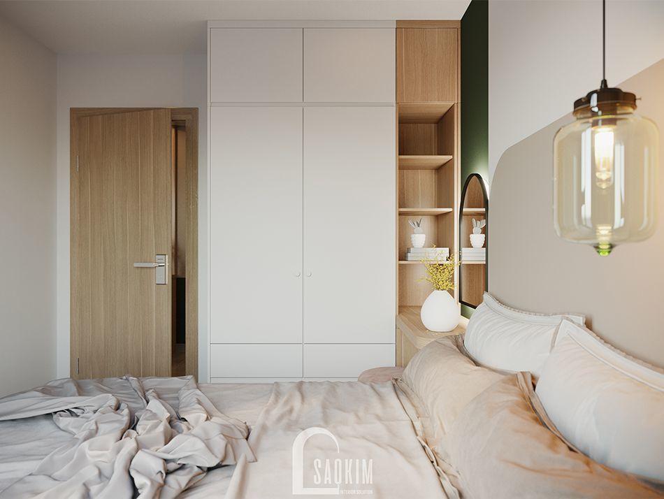 Không gian phòng ngủ Master ấm áp và bình yên