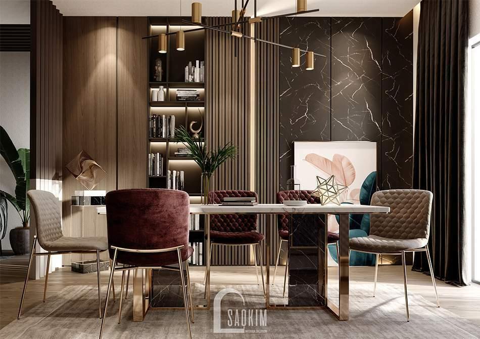 Mẫu thiết kế căn hộ 62m2 Tòa tháp Thiên Niên Kỷ