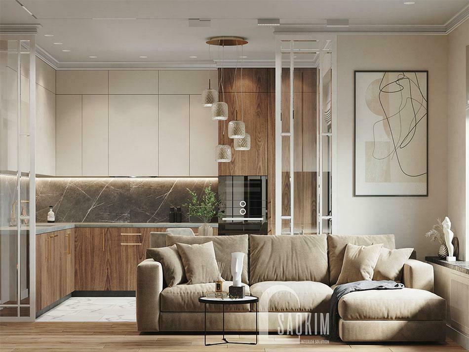 Mẫu thiết kế sofa đẹp tạo điểm nhấn cho không gian sống của gia đình