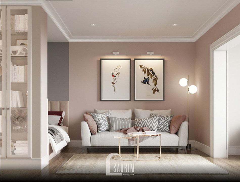 Mẫu thiết kế sofa văng hiện đại, trẻ trung
