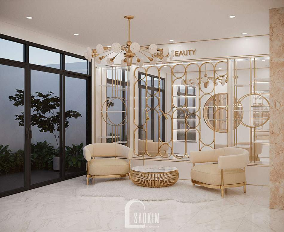 Mẫu thiết kế sofa đơn sang trọng, thanh lịch dành cho phòng khách