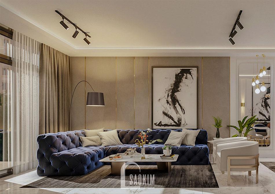 Sofa nhung với thiết kế sang trọng, hiện đại bậc nhất